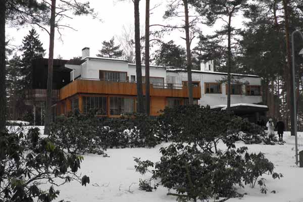 Alvar Aalto, Villa Mairea Gullichsen, Noormarkku, Finlandia - Immagine © vitruvio.ch
