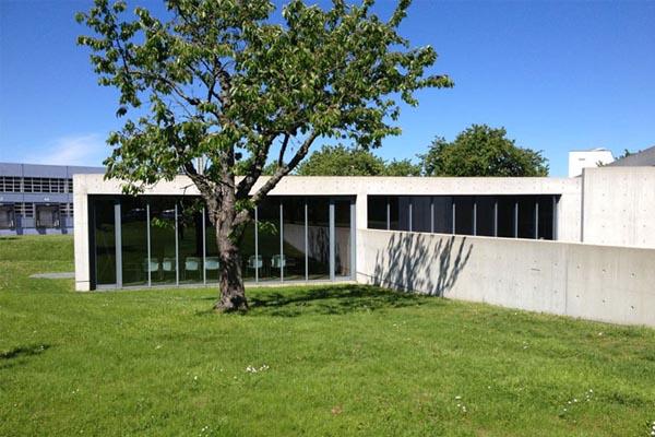 Tadao Ando, Padiglione delle conferenze Vitra, Weil am Rhein, Germania - Immagine © vitruvio.ch