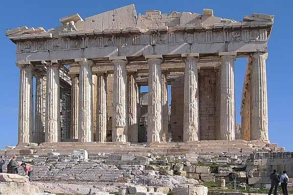 Partenone, Atene, Grecia - Immagine: Wikipedia