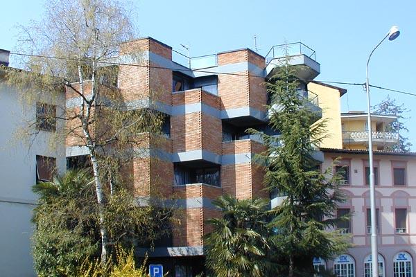 Peppo Brivio, Casa d'appartamenti Cate, Lugano, Svizzera - Immagine © vitruvio.ch