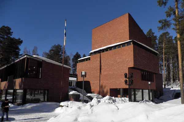 Alvar Aalto, Municipio di Säynätsalo, Finlandia - Immagine © vitruvio.ch