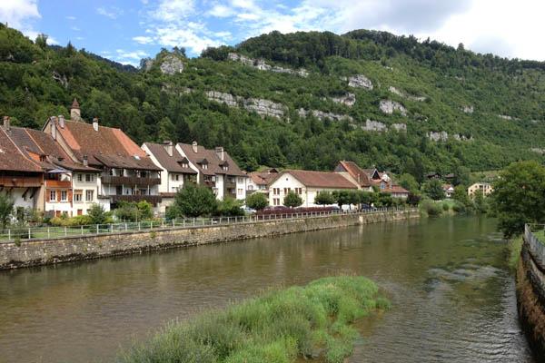 Saint-Ursanne, Svizzera - Immagine © vitruvio.ch