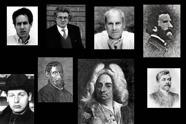 Moos, Botta, Foster, Croci, De Klerk, Guarini, Von Erlach, Eiffel