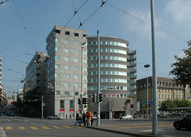 Centro Commerciale a Losanna