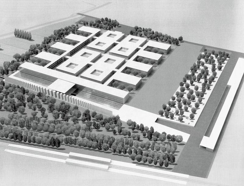 Progetto per l'ospedale di Mestre