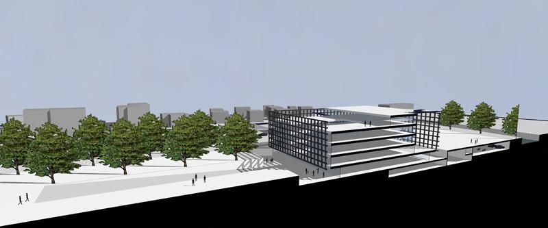 Progetto per il nuovo centro della polizia cantonale