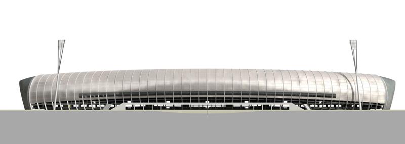 Progetto per il nuovo stadio del Letzigrund