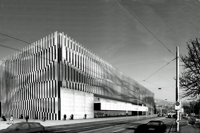 Progetto per il nuovo centro dei congressi di Zurigo