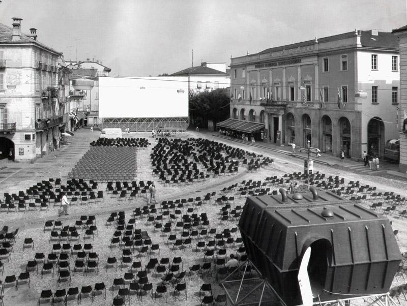 Struttura per il Festival del Film di Locarno