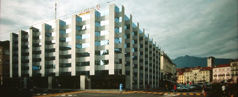 Nuovo edificio postale a Locarno