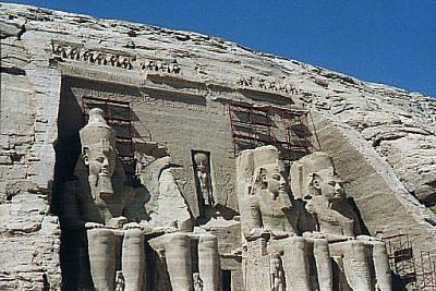 Il  tempio di Ramsete II