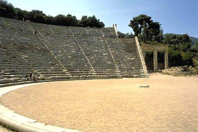 Teatro a Epidauro